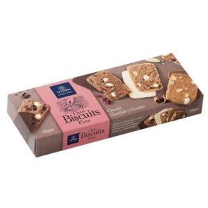 Biscuits aux 3 chocolats
